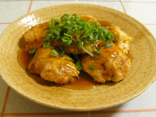 Chicken Piccata With Thick Chinese Sauce