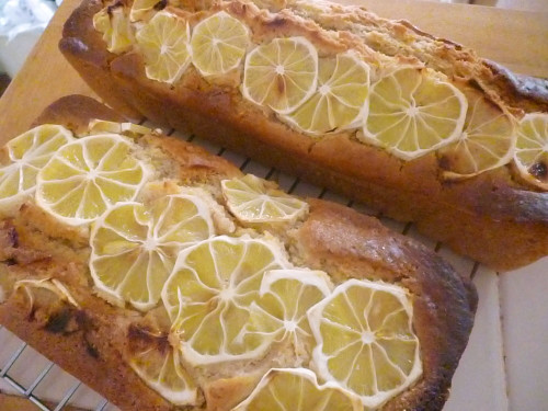 Macrobiotic Lemon Cake