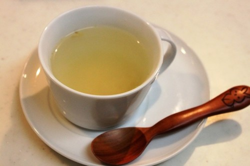 Honey Ginger Tea -- A Natural Cold Remedy