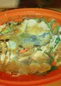 Salmon Chanchan-yaki (Salmon with Sweet Miso Sauce) Microwave Cooking