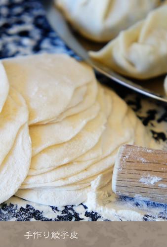 Super Easy Gyoza Dumpling Skins