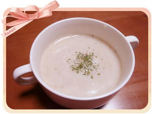 Daikon Radish and Soy Milk Potage Soup