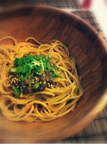 Natto Pasta Scented with Yuzu Pepper