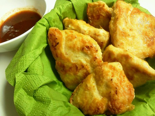 Juicy Chicken Nuggets Made with Chicken Breast