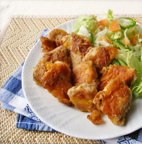 Chicken Breast with Crispy and Creamy Cheese Coating