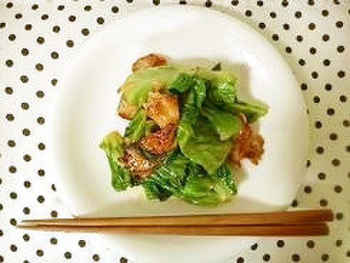 Don't Toss Out the Outer Leaves of Your Lettuce! Make a Mayo Stir-Fry