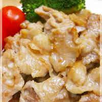 Cheap Stir-fried Pork Offcuts with Mentsuyu, Garlic and Mayonnaise