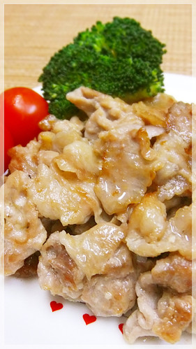 Cheap Stir-fried Pork Offcuts with Mentsuyu, Garlic and Mayonnaise