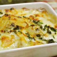 Taro Root & Miso Butter Gratin