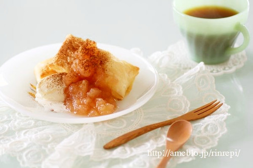 "Easy Apple ""Pie"" with Homemade Apple Jam"