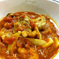 Chicken & Tomato Stew from Vegetable Soup