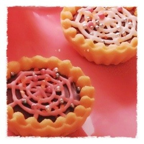 Spider Web Tarts for Halloween