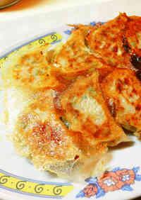 Crispy Gyoza Dumplings with Wings