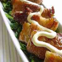 Thickly-Sliced Pork Belly Teriyaki