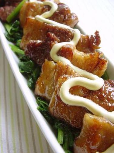 Thickly-Sliced Pork Belly Teriyaki