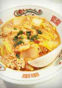 Great for Winter! Creamy Mapo Chinese Cabbage!