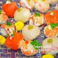 Roly Poly Bite-Sized Temari Sushi