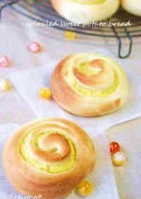Spiraled Sweet Potato Bread