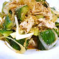 Yummy Chinese-Style Shabu-Shabu Pork and Crushed Cucumber Salad