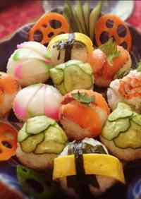 Temari Sushi for Parties and Guests