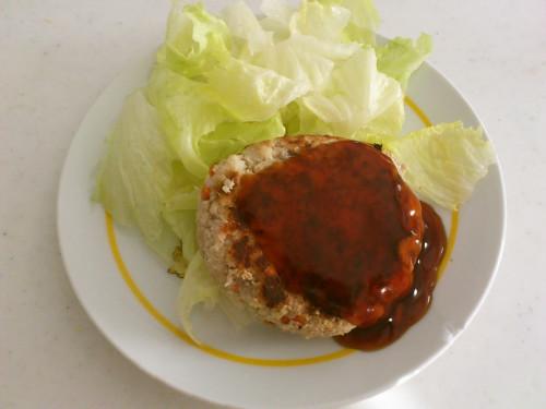 Low-Carb Okara Hamburgers
