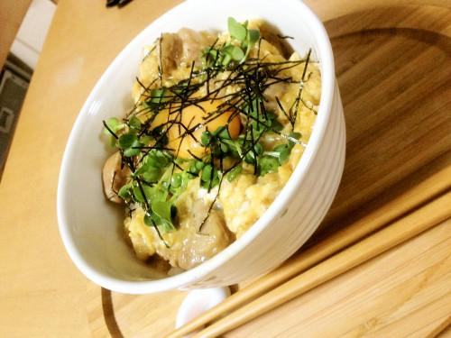 ~Easy to Make~ Fluffy Chicken & Egg Rice Bowl