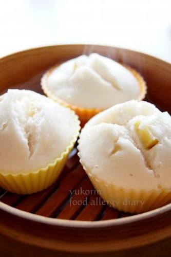 Food-Allergy Friendly! Steamed Buns with 100% Rice Flour