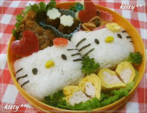 Hello Kitty Character Bento