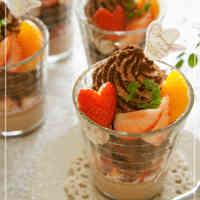 Strawberry Chocolate Verrine