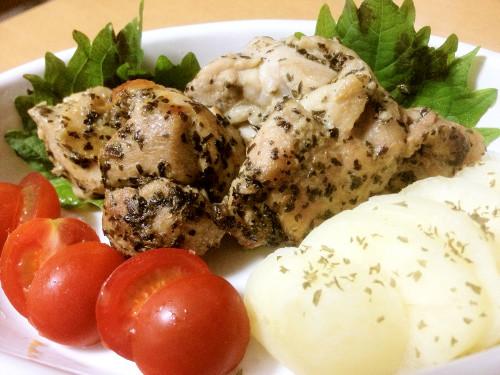 Lemon-Basil Chicken Sauté