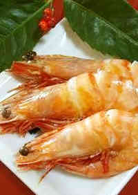 Sweetly Simmered Shrimp for Osechi (New Year's Feast)