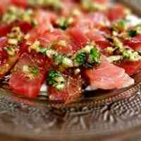 Carpaccio Tuna Salad