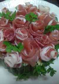 Cured Ham Rose Bouquet