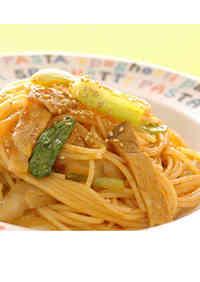 Sesame Flavored Chinese Spaghetti Napolitan