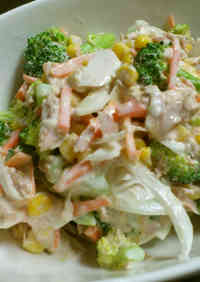 Food Hall Style Broccoli and Tuna Salad