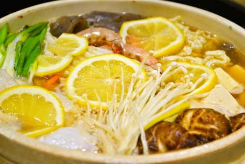 Shio Koji Lemon Hot Pot