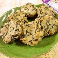 Soft & Chewy Soba Flour and Tofu Dango with Hijiki Seaweed