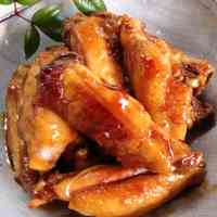 Teriyaki Chicken Wings with Marmalade