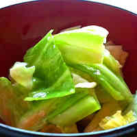 Quick and Easy Shio-koji Pickled Cabbages with Sesame Oil