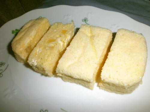 Microwaved Cream Cheese & Fruit Cake