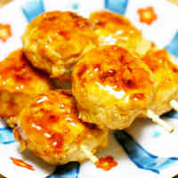 Chicken Tsukune Patties for Bento