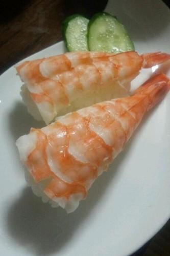 The Ever-Popular Shrimp Sushi