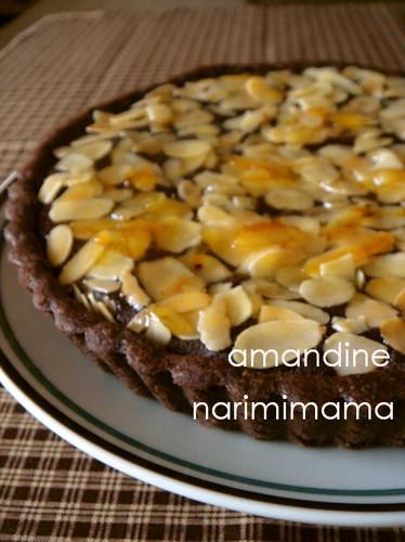 Chocolate Amandine (Tart)
