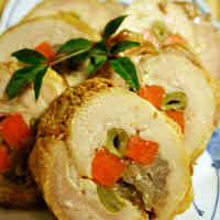 Refreshing Simmered Chicken Rolls