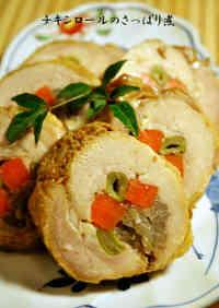 Refreshing Simmered Chicken Rolls