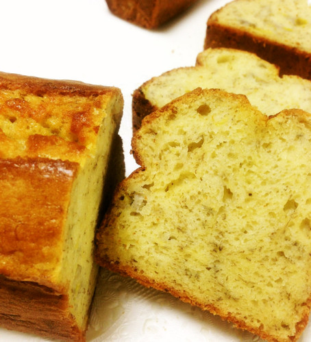 Assembled in 10 Minutes! Bakery-style Banana Bread