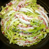 Chinese Cabbage and Pork Belly Hot Pot To Chase Away A Cold