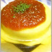 Furofuki Daikon Topped with Cheese
