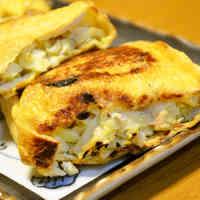 A Springtime Dish: Cabbage and Tuna Stuffed Abura-age Fried Tofu