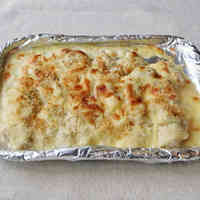Crisp Chicken Tenderloin & Cheese Bake